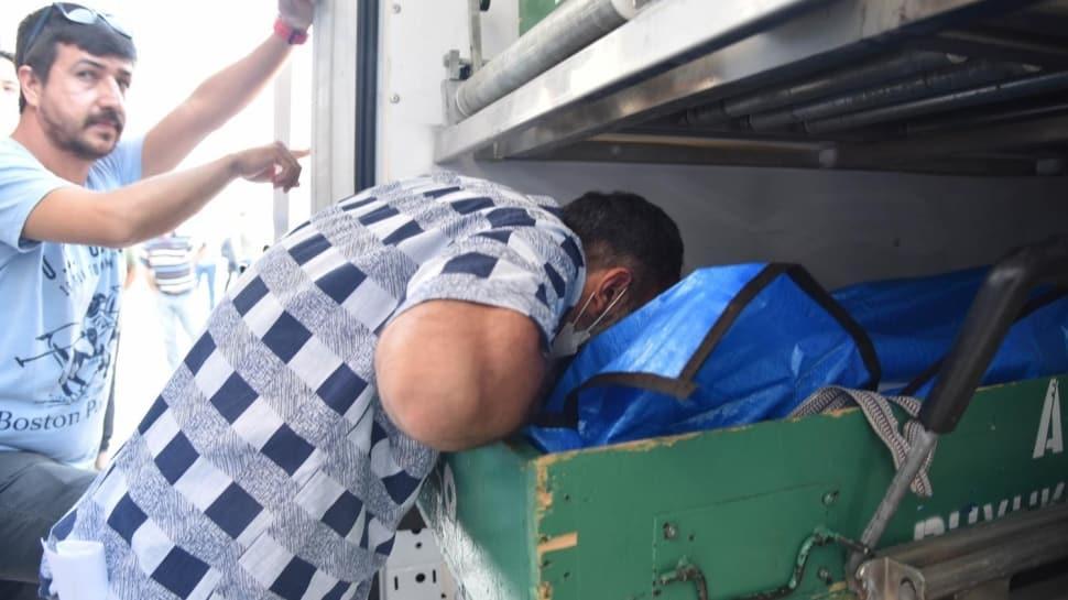 Yürek yakan an!  Salda Gölü'nde boğulan Suriyeli Hamzeh'in babası: Tuttum ama kurtaramadım