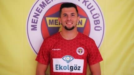 Menemenspor'un kalecisi Gentian Selmani'ye Süper Lig ve İtalya'dan talipler var