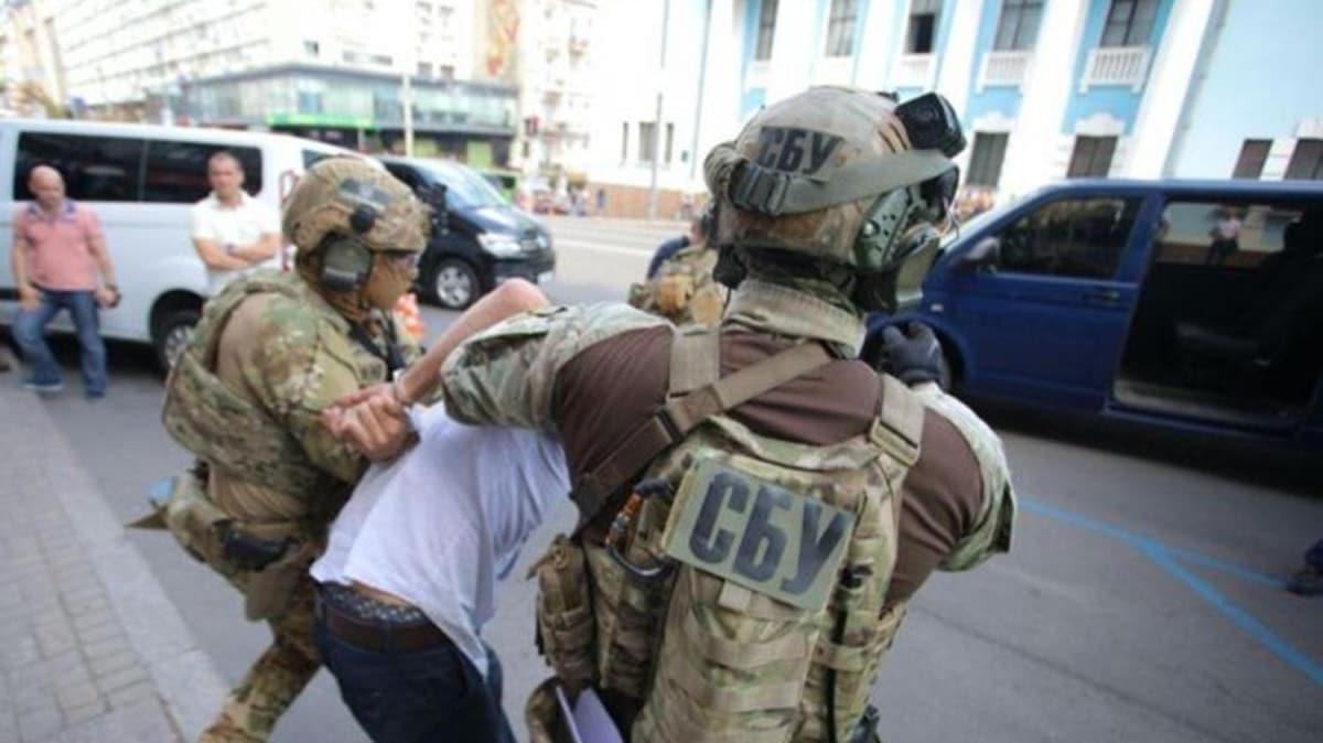 Ukrayna'da bankayı havaya uçurmakla tehdit eden saldırgan yakalandı