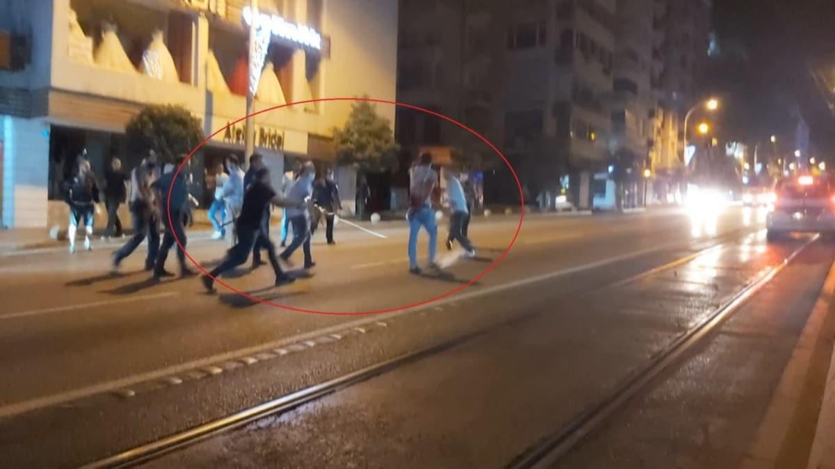 Eski eşi, 2 polis ve bekçiye baltayla saldırdı