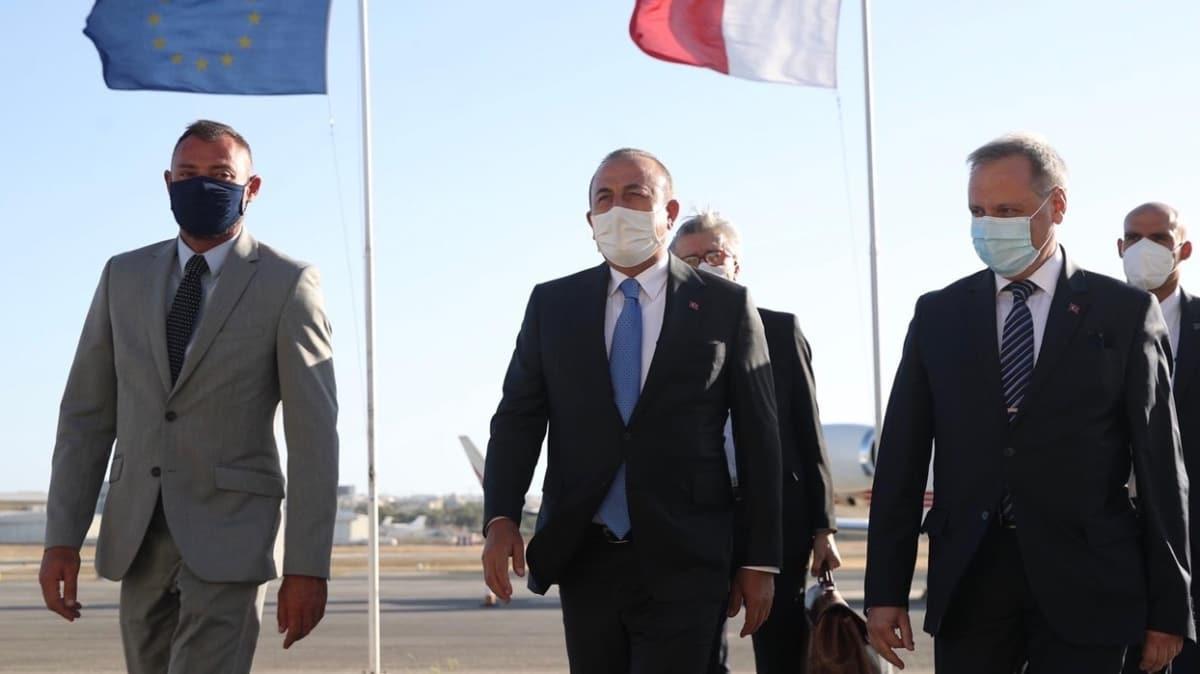 Dışişleri Bakanı Çavuşoğlu Malta'da