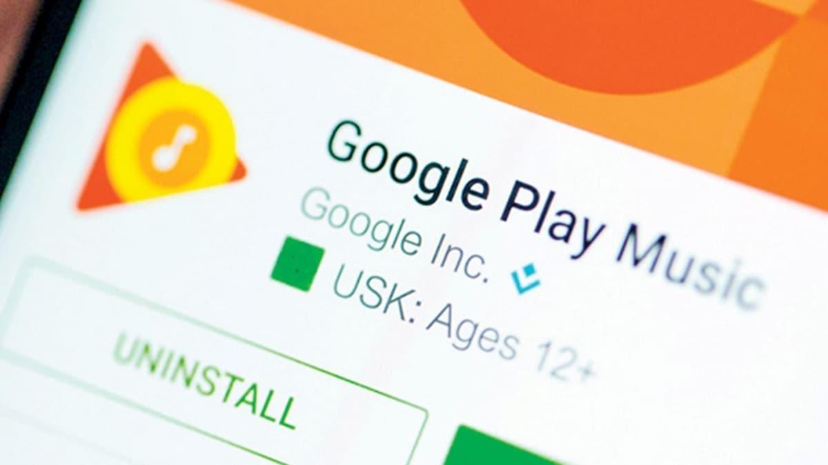 Google Play Müzik tarih oluyor