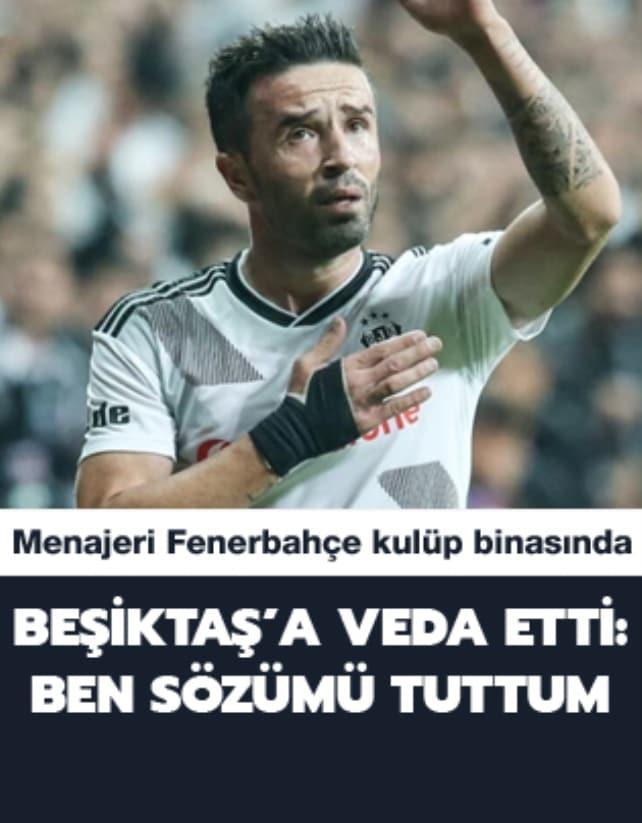 Fenerbahçe'yle anlaşan Gökhan Gönül, Beşiktaş'a veda etti