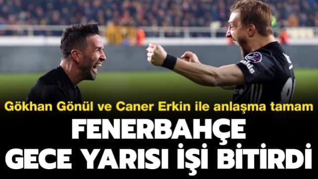 Fenerbahçe gece yarısı 2 transferi bitirdi
