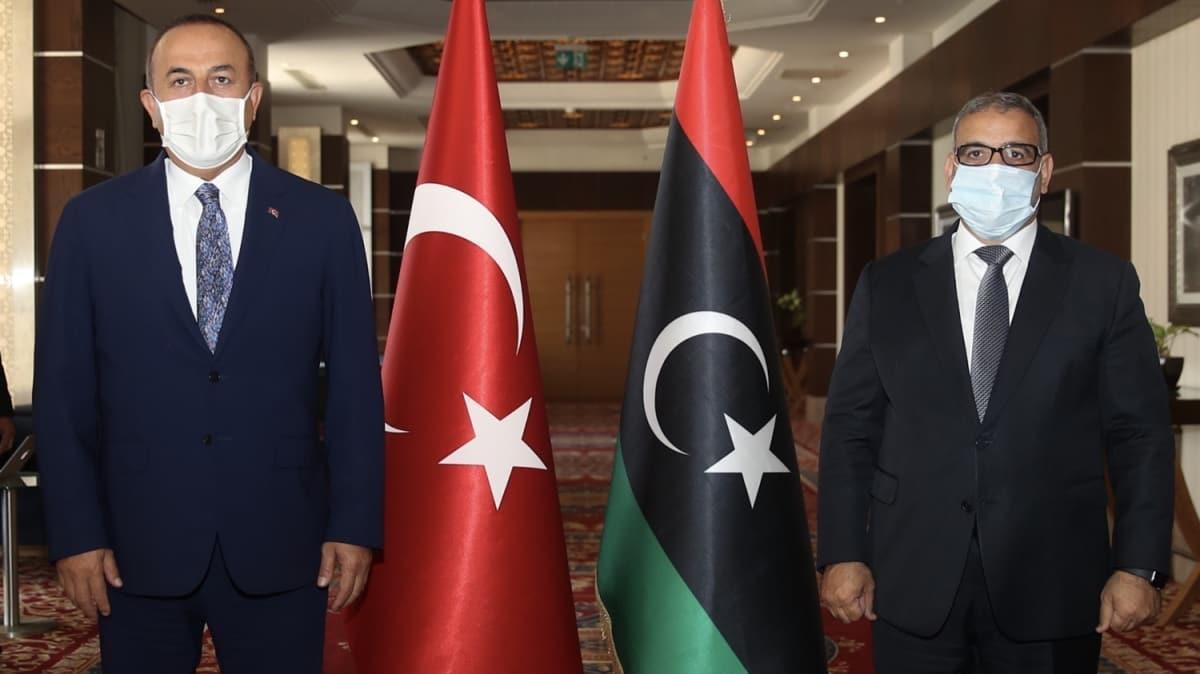 Dışişleri Bakanı Mevlüt Çavuşoğlu Libya'da