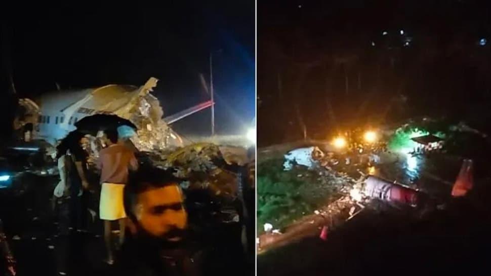 Dubai'den kalkan Hindistan havayollarına ait yolcu uçağı düştü!