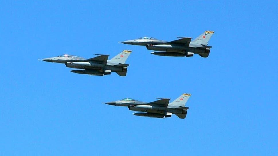TurAz Kartalı tatbikatı devam ediyor... Türk F-16'ları Azerbaycan uçaklarıyla uçuş gerçekleştirdi