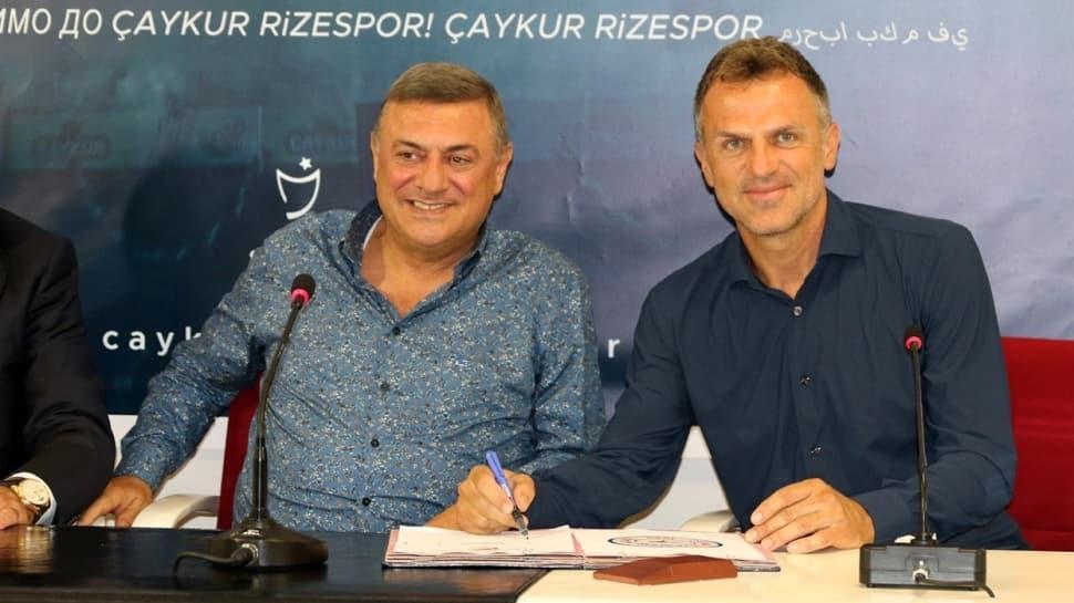 Çaykur Rizespor'da Stjepan Tomas dönemi resmen başladı