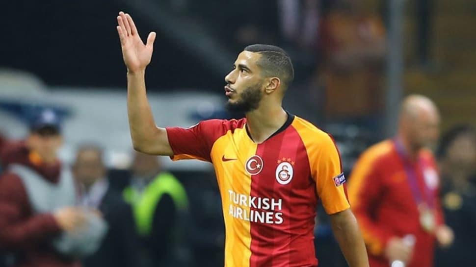 Galatasaray ceza kesince Younes Belhanda kıyameti kopardı