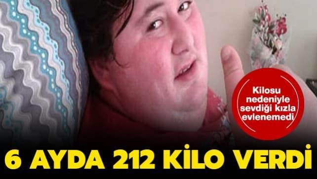 Kilosu nedeniyle sevdiği kızla evlenemeyince 296 kilo ile başladığı diyet ile 84 kiloya düştü