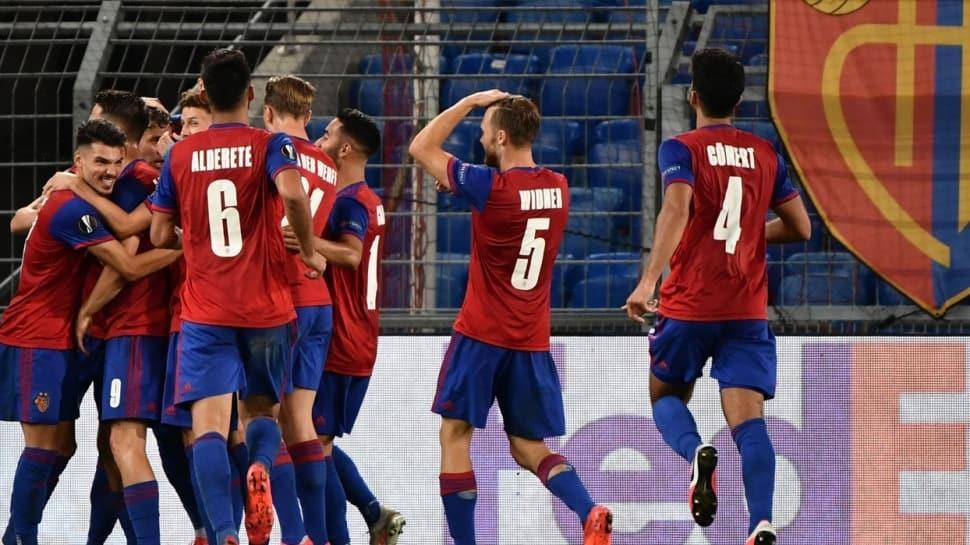 Basel, Eintracht Frankfurt'u eleyerek çeyrek finale yükseldi