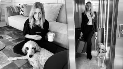 Hadise sevgilisinin köpeğine Instagram hesabı açtı!