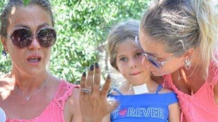 Yeliz Yeşilmen'in kızının bacaklarına kaynar su döküldü!