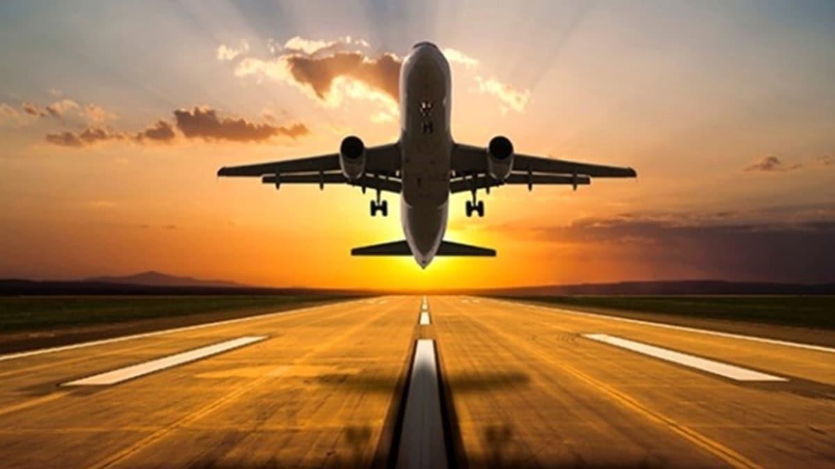 Havayolu kullanan yolcu sayısı temmuzda 6,2 milyon kişi oldu