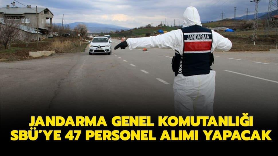 """JGK SBÜ personel alımı ne zaman"""" Jandarma Genel Komutanlığı SBÜ personel alım şartları nedir"""""""