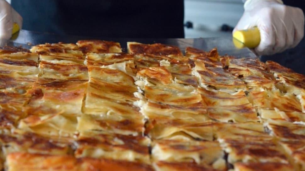 Erzurum'un su böreğine Coğrafi İşaret Tescili! Erzurum su böreği tarifi! Su böreği nasıl yapılır?