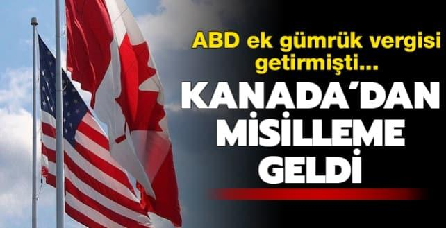 ABD'nin kararı sonrası Kanada'dan misilleme... Amerikan alüminyum ürünlerine yeni gümrük tarifesi uygulanacak!
