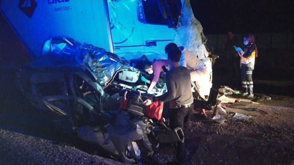Kayseri'de acı olay: Düğüne giden damat kazada can verdi