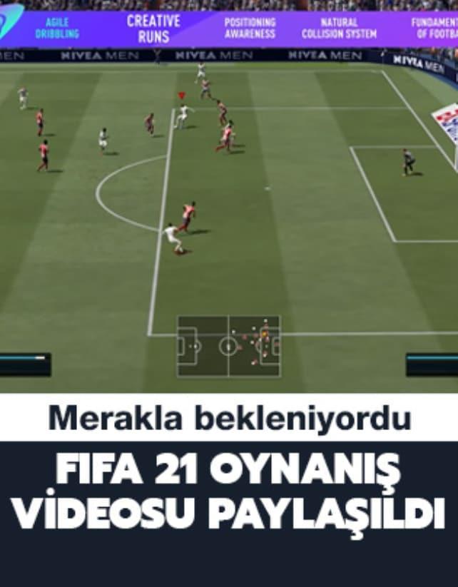 Fifa 21 oynanış videosu paylaşıldı