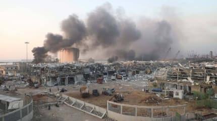 Beyrut'taki patlamada yeni gelişme: 60 kişi kayıp