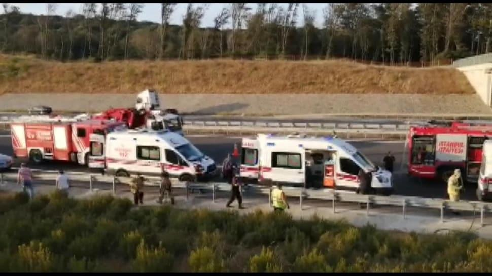 Kuzey Marmara Otoyolu'nda otobüs yoldan çıktı: 5 ölü, 25 yaralı