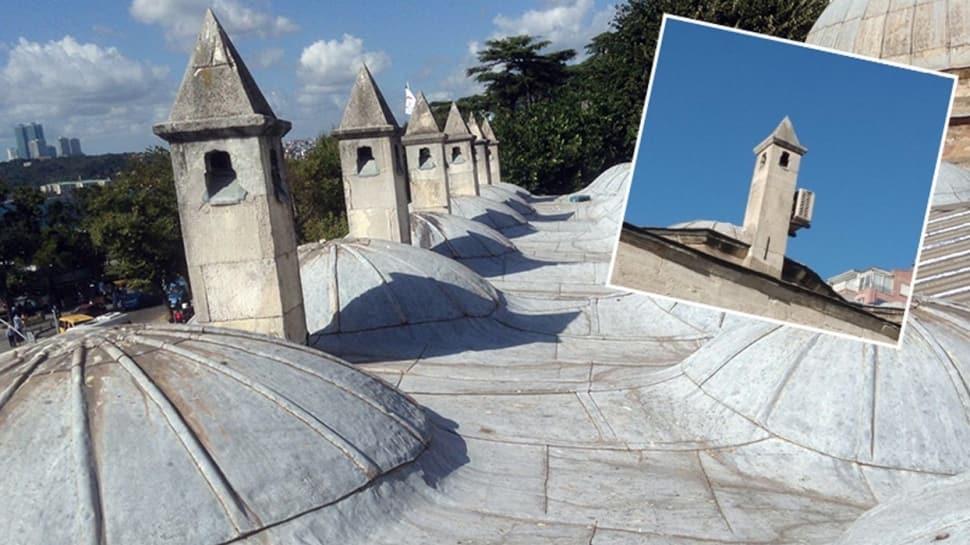 Tepkilere neden olmuştu... Vali Yerlikaya duyurdu: Tarihi yapının bacalarındaki klimalar kaldırıldı