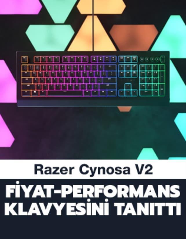 Razer Cynosa V2 fiyat-performans klavyesini tanıttı