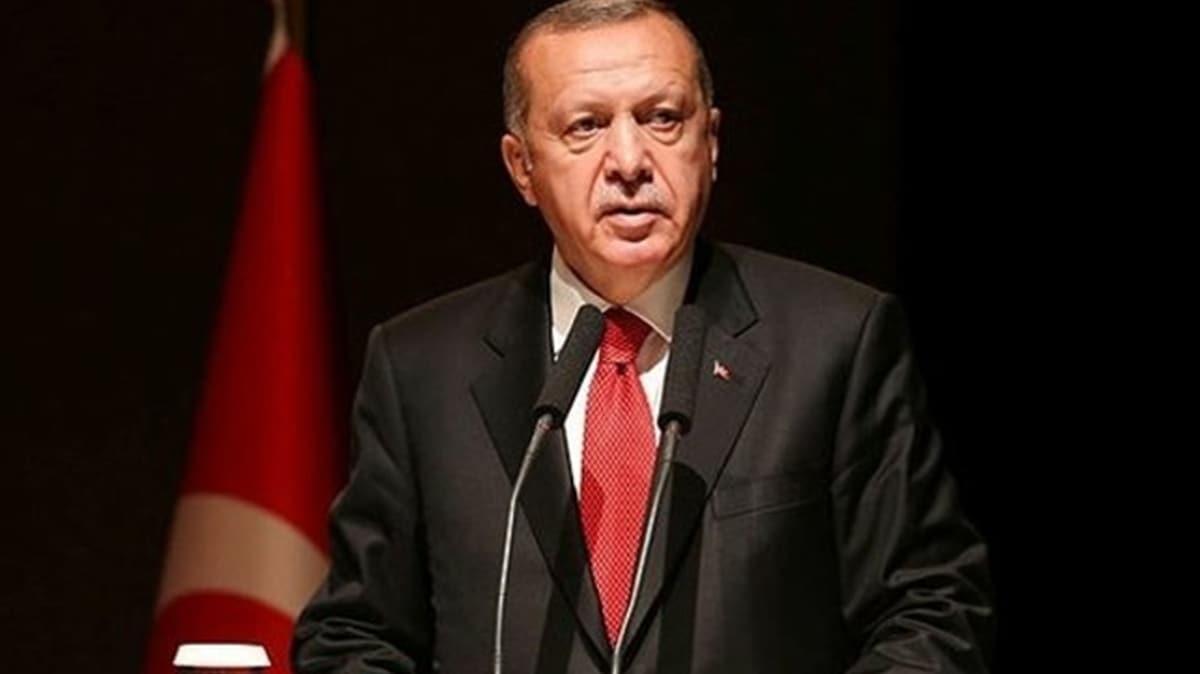 Başkan Erdoğan'dan şehit ailelerine başsağlığı mesajı