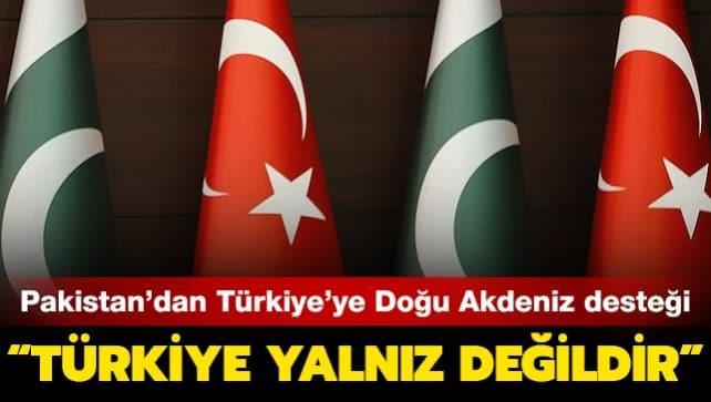 Pakistan'dan Türkiye'ye Doğu Akdeniz desteği: Türkiye yalnız değildir