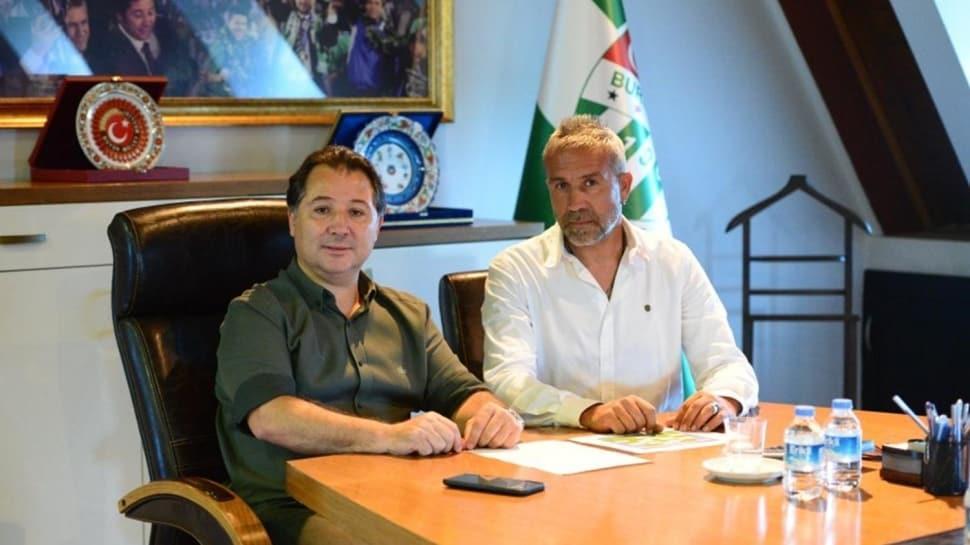 Bursaspor'da yeni sportif direktör Mustafa Gönden oldu