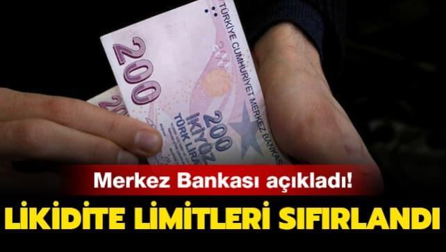 Merkez Bankası'ndan yeni likidite kararı