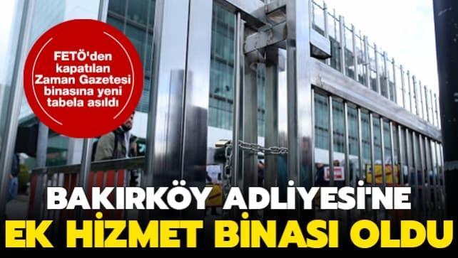 FETÖ'den kapatılan Zaman Gazetesi binasına yeni tabela asıldı