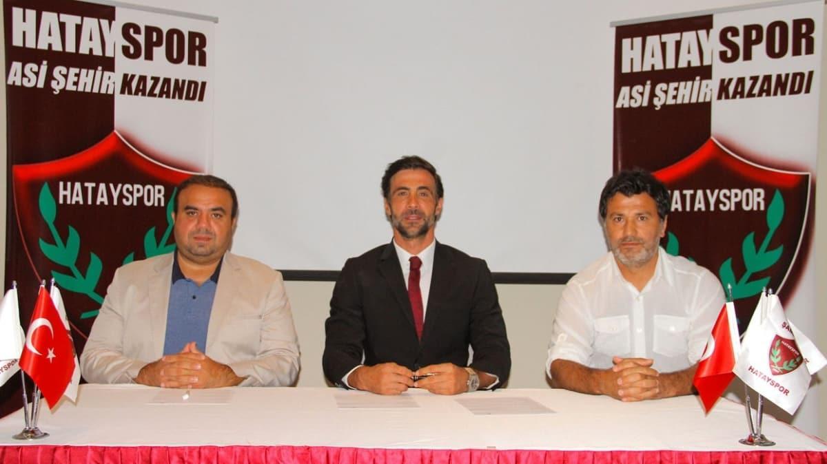 Hatayspor, teknik direktör Ömer Erdoğan ile anlaştı