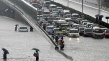 Çin'de şiddetli yağışlarda 6 kişi öldü, 5 kişi kayboldu