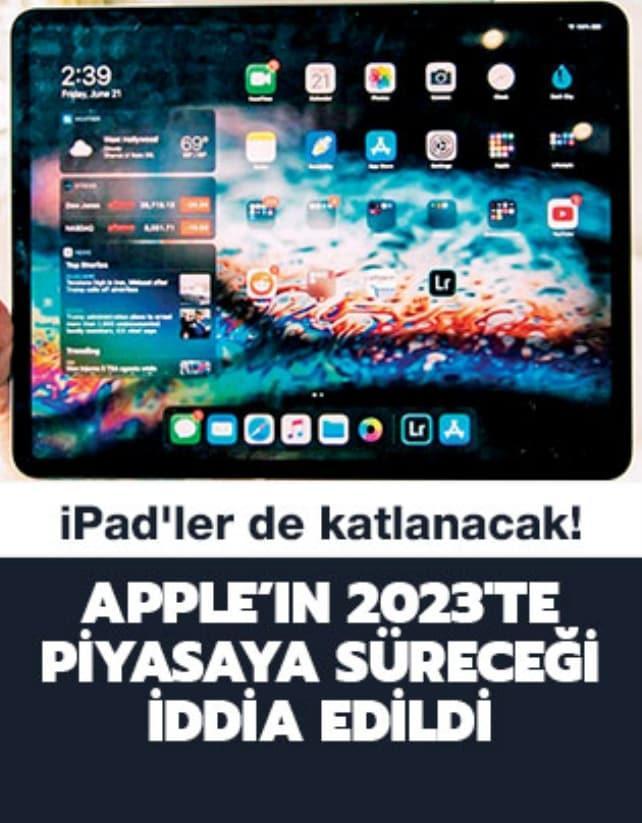 iPad'ler de katlanacak