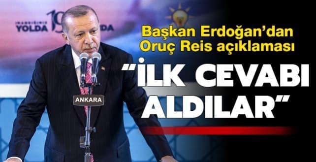 Başkan Erdoğan'dan önemli açıklamalarda bulundu