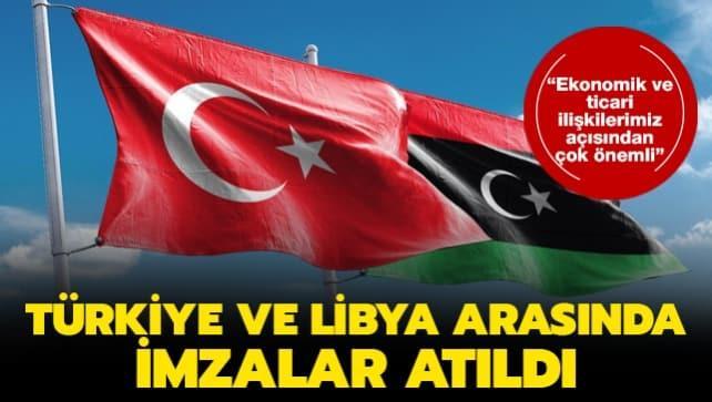 Ticaret Bakanı Pekcan duyurdu! Türkiye ve Libya arasında çok önemli imza