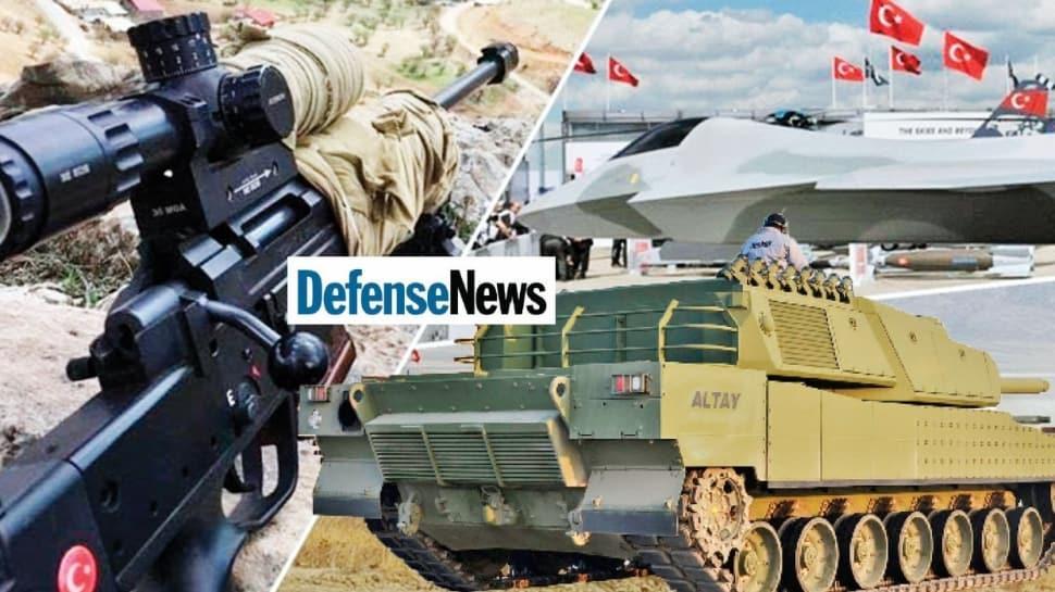 Ünlü savunma dergisi Defensenews yazdı! 'Türkiye en büyük silah ...