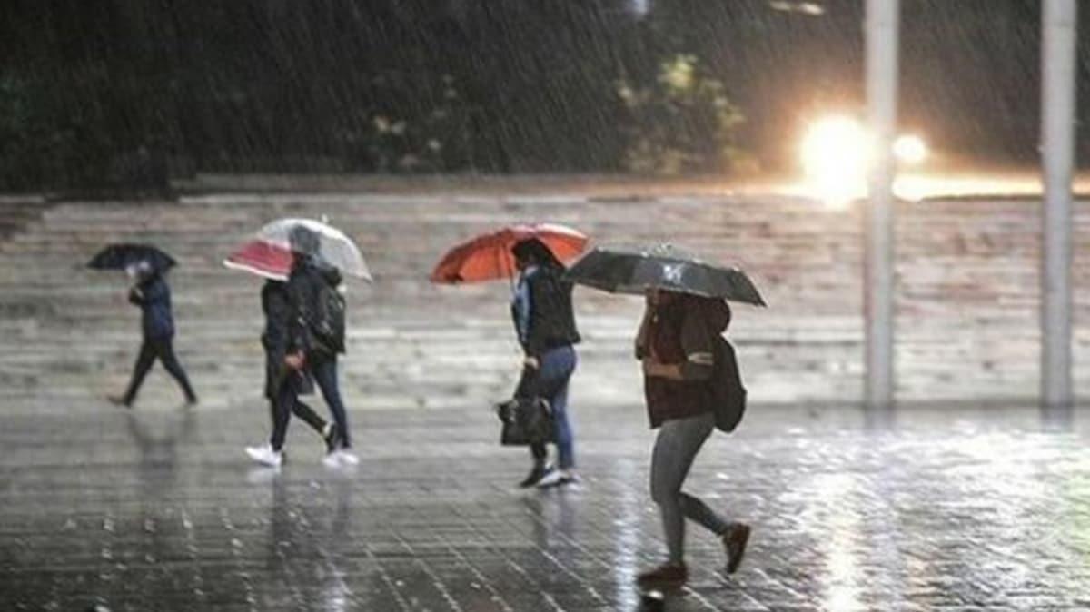 Meteoroloji uyardı: Türkiye yağışlı havanın etkisi altına giriyor