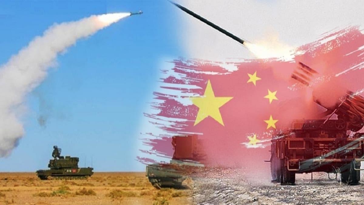 Çin'den Hindistan'a misilleme... Füzeler ateşlendi!