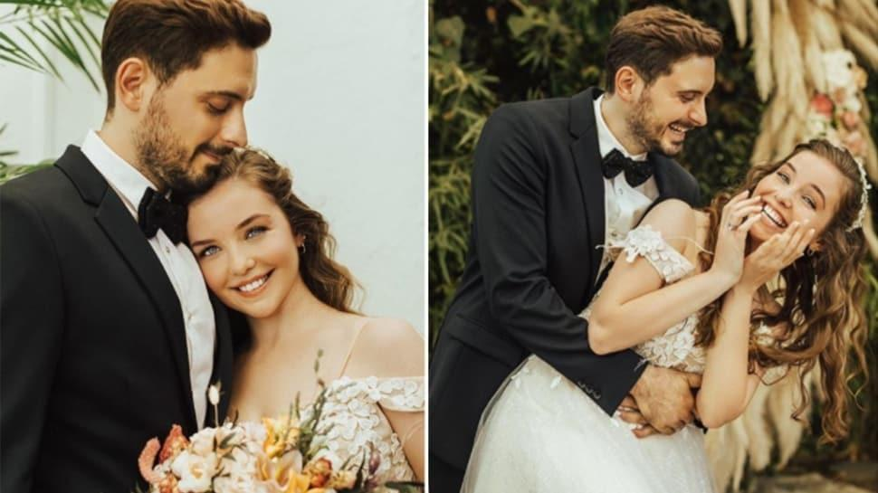 Selena'nın Leyla'sı evleniyor... Gelinlikli pozlarına beğeni yağdı!