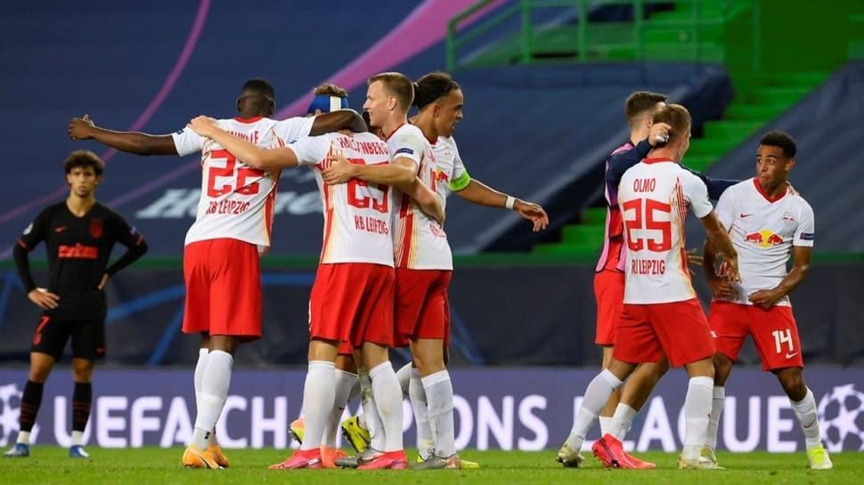 Şampiyonlar Ligi'nde ikinci yarı finalist Leipzig