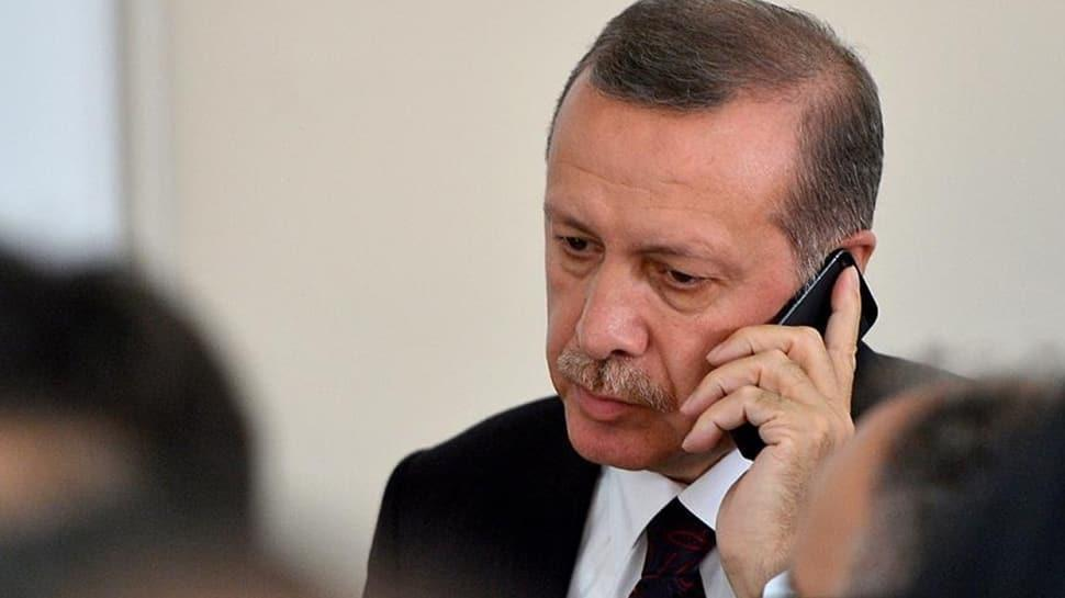 Başkan Erdoğan'dan yangınla mücadele eden işçilere moral telefonu