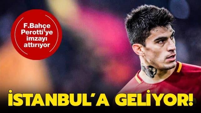 F.Bahçe, Perotti'yi bitiriyor! Yıldız futbolcu İstanbul'a geliyor...
