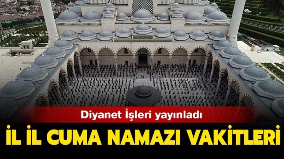 """14 Ağustos 2020 Cuma namazı vakitleri: Cuma namazı saati kaçta"""""""
