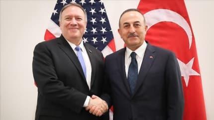 Bakan Çavuşoğlu, Pompeo ile Doğu Akdeniz'i görüşecek