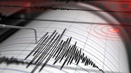 Akdeniz 4.1 büyüklüğünde deprem