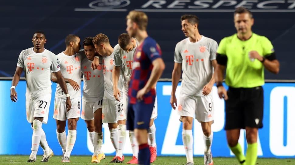 Bayern Münih, Barcelona'ya ilkleri yaşattı
