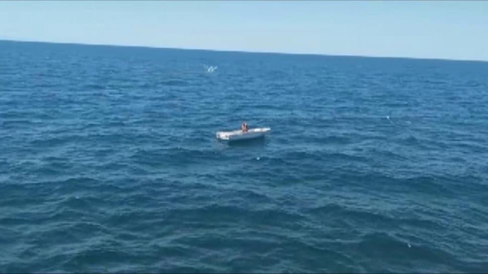 Marmara Denizi'nin ortasında mahsur kaldı... 3 gün sonra kurtarıldı