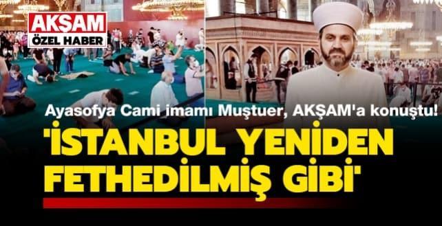 'İstanbul yeniden fethedilmiş gibi'